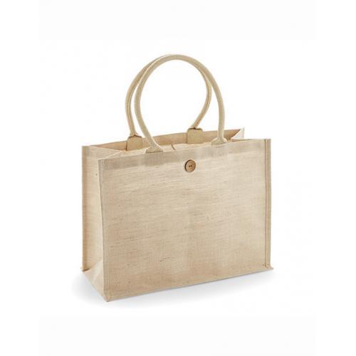 Jutová taška Juco Shopper