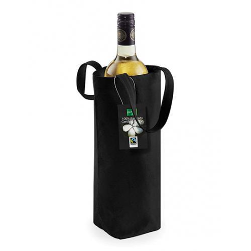 Fairtrade bavlněná taška na lahev