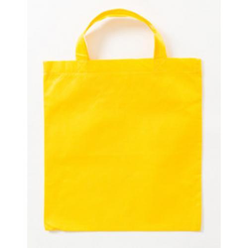 Taška z netkané textílie – krátká držadla