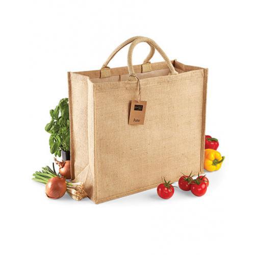 Jutová nákupní taška - Jumbo