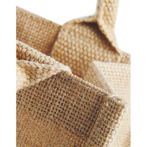 Jutová mini dárková taška