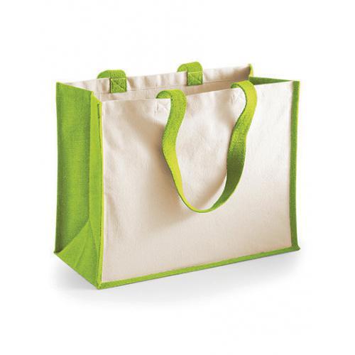 Jutová nákupní taška - Printers Classic